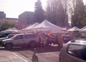 Trip to Farmer's Market: Yay for Spring!