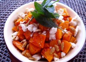 Roasted Butternut Squash with Sage Brown Butter