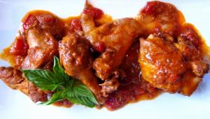 Hunter's Style Chicken Pollo alla Cacciatora