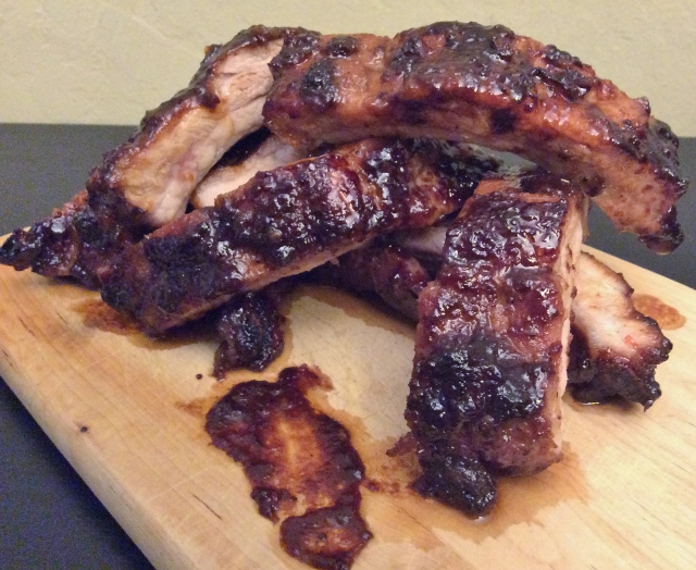 Sweet and Spicy Baby Back Ribs